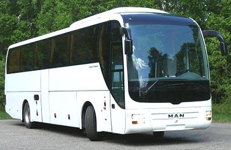 фото ман автобус